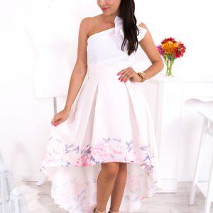 Biela asymetrická elegantná sukňa s ružovými kvetmi -Biela asymetrická elegantná sukňa s ružovými kvetmi -dlhá sukňa - dlha sukna - spoločenská sukňa - maxi sukňa - spolocenska sukna - spoločenska sukna - saténová sukňa - satenova sukna - sukňa na svadbu - dlha spolocenska sukna - sukne dlhe - sukna dlha - dlhé spoločenské sukne - dlhé letné sukne - satenove sukne - dlha satenova sukna - sukna spolocenska - maxisukňa - dlha tylova sukna - saténové sukne - dlhá saténová sukňa - slávnostná sukňa - tylova sukna dlha - dlhe sukne na svadbu - dlha sukna s rozparkom - sukne maxi - dlha elegantna sukna - cervena dlha sukna - dlha plesova sukna