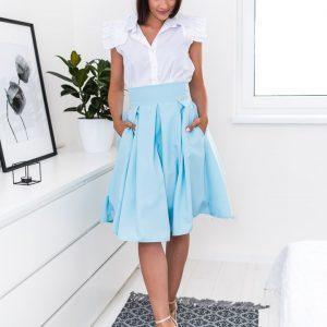 Bledomodrá elegantná sukňa po kolená -Bledomodrá elegantná sukňa po kolená -dlhá sukňa - dlha sukna - spoločenská sukňa - maxi sukňa - spolocenska sukna - spoločenska sukna - saténová sukňa - satenova sukna - sukňa na svadbu - dlha spolocenska sukna - sukne dlhe - sukna dlha - dlhé spoločenské sukne - dlhé letné sukne - satenove sukne - dlha satenova sukna - sukna spolocenska - maxisukňa - dlha tylova sukna - saténové sukne - dlhá saténová sukňa - slávnostná sukňa - tylova sukna dlha - dlhe sukne na svadbu - dlha sukna s rozparkom - sukne maxi - dlha elegantna sukna - cervena dlha sukna - dlha plesova sukna