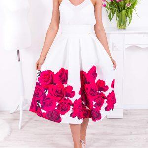 Biela midi elegantná sukňa s ružovými kvetmi -Biela midi elegantná sukňa s ružovými kvetmi -dlhá sukňa - dlha sukna - spoločenská sukňa - maxi sukňa - spolocenska sukna - spoločenska sukna - saténová sukňa - satenova sukna - sukňa na svadbu - dlha spolocenska sukna - sukne dlhe - sukna dlha - dlhé spoločenské sukne - dlhé letné sukne - satenove sukne - dlha satenova sukna - sukna spolocenska - maxisukňa - dlha tylova sukna - saténové sukne - dlhá saténová sukňa - slávnostná sukňa - tylova sukna dlha - dlhe sukne na svadbu - dlha sukna s rozparkom - sukne maxi - dlha elegantna sukna - cervena dlha sukna - dlha plesova sukna
